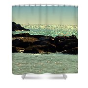 The Jetties Shower Curtain