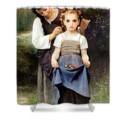 The Jewel Of The Fields Shower Curtain