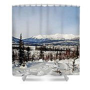 The John River Valley Shower Curtain