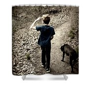 The Journey Together Shower Curtain