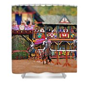 The Jousters Shower Curtain