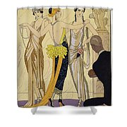 The Judgement Of Paris Shower Curtain