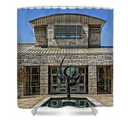 The Jule Collins Smith Museum Of Fine Art Shower Curtain