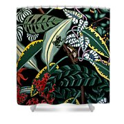 The Jungle Shower Curtain by Anthony Morris