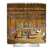 The Junumushtoomee, 19th Century Shower Curtain