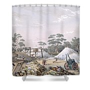 The Kapunda Copper Mine, From South Shower Curtain
