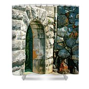 The Keep Biltmore Asheville Nc Shower Curtain by William Dey