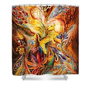 The Keeper Of Three Keys Shower Curtain
