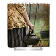 The Kettle Shower Curtain