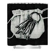 The Keys Shower Curtain