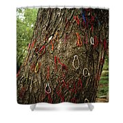 The Killing Tree Shower Curtain