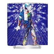 The King 4 Shower Curtain