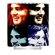 The King Of Rock And Roll Shower Curtain