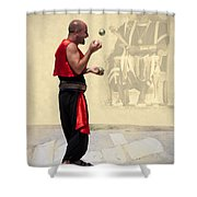 The King's Jester Shower Curtain