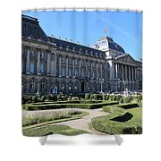 The King's Palace In Brussels Shower Curtain