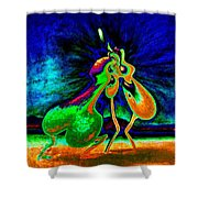 The Kiss Of Nature Shower Curtain