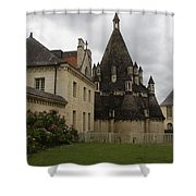 The Kitchenbuilding - Abbey Fontevraud Shower Curtain