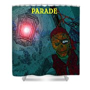 The Knights Parade Shower Curtain