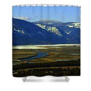 The Kootanie River In Bonners Ferry Idaho Shower Curtain