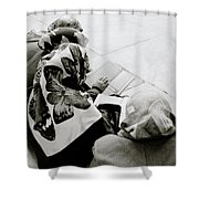 A Life Of Reading Shower Curtain