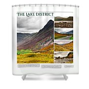 The Lake District Autumn 2 Shower Curtain