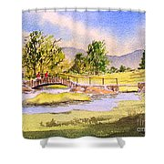 The Lake District - Slater Bridge Shower Curtain