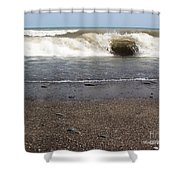 The Lake That Thinks Its An Ocean Shower Curtain