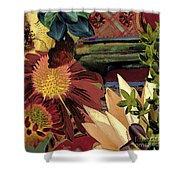 The Lamp Shower Curtain