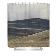 The Land Scape Shower Curtain