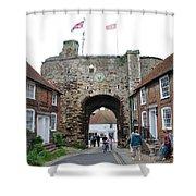 The Landgate Rye Shower Curtain