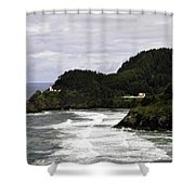 The Landscape Of Heceta Shower Curtain