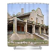 The Las Vegas And Tonopah Railroad Depot Shower Curtain