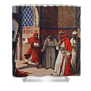 The Last Council Of Boabdil Shower Curtain