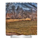 The Last Days Of Fall Shower Curtain