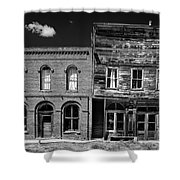 The Last Frontier - Bodie - California Shower Curtain