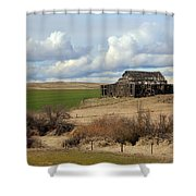 The Last Remains Shower Curtain