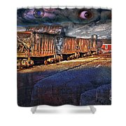 The Last Shipment Shower Curtain