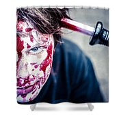 The Last Shock Shower Curtain