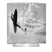 The Last Spitfire Shower Curtain