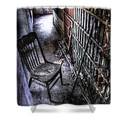 The Last Visitor Shower Curtain