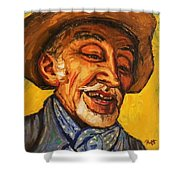 The Laughing Cavalier Shower Curtain