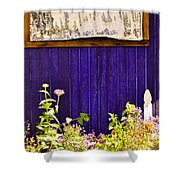 The Lavender Shower Curtain