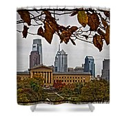 The Leaves Of Philly Shower Curtain