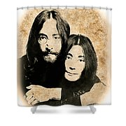 The Lennons Shower Curtain