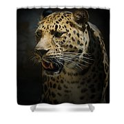 The Leopard Shower Curtain