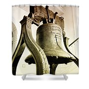 The Liberty Bell Shower Curtain