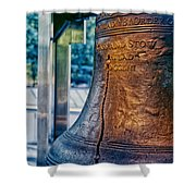 The Liberty Bell In Philadelphia Shower Curtain