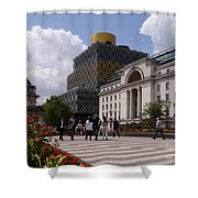 The Library Of Birmingham Shower Curtain