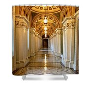 The Library Of Congress Jefferson Building Shower Curtain
