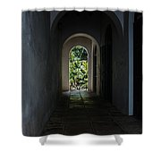 The Light At The End Of The Tunnel  Shower Curtain
